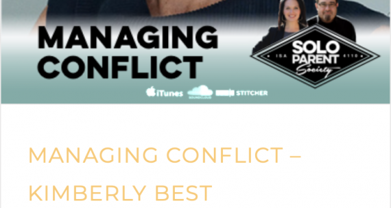 Solo Parent Society Podcast on Conflict